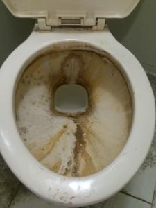 トイレのシミ