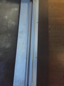 窓枠サッシお掃除